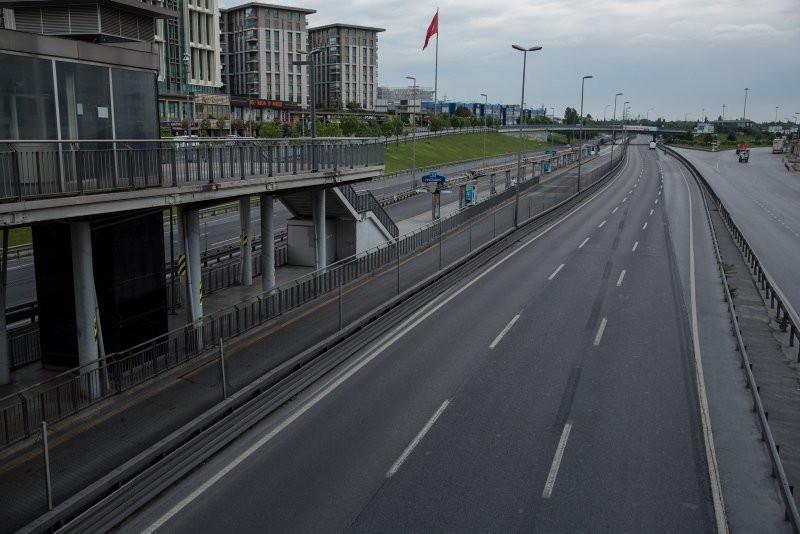 İstanbul'da arife gününde yollar boş kaldı