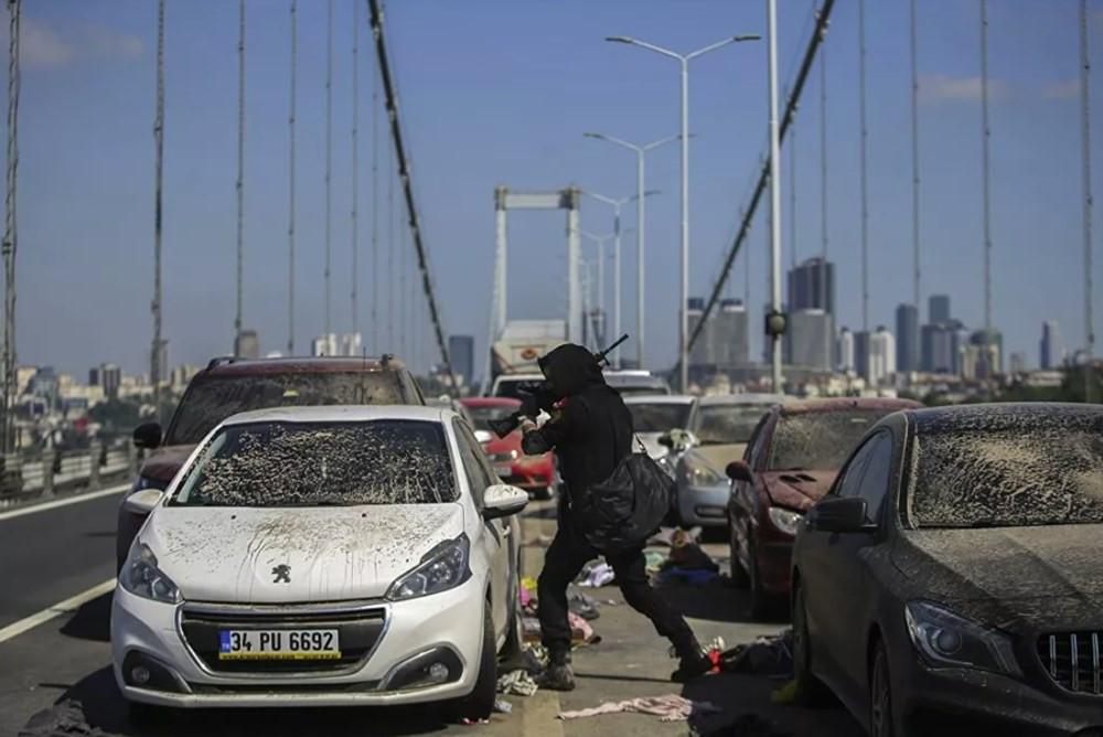 15 Temmuz Şehitler Köprüsü'nde film çekildi
