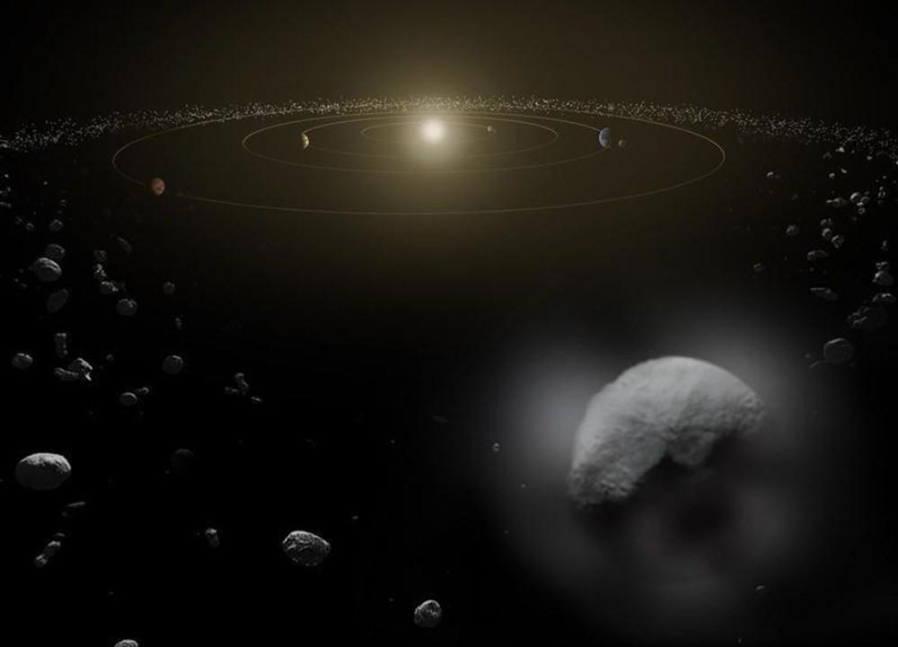 NASA: Big Ben büyüklüğündeki göktaşı Dünya'yı teğet geçecek