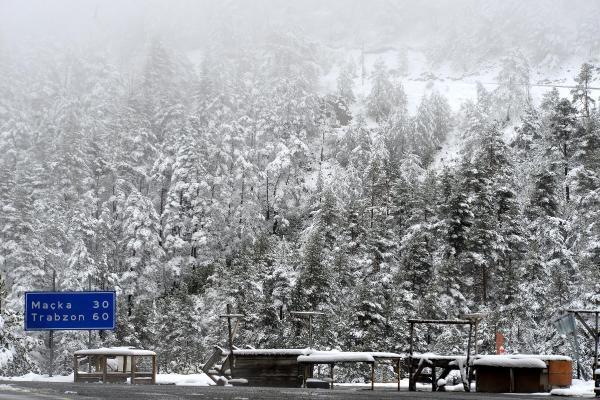 Doğu Karadeniz'de kar kalınlığı 20 santimi aştı