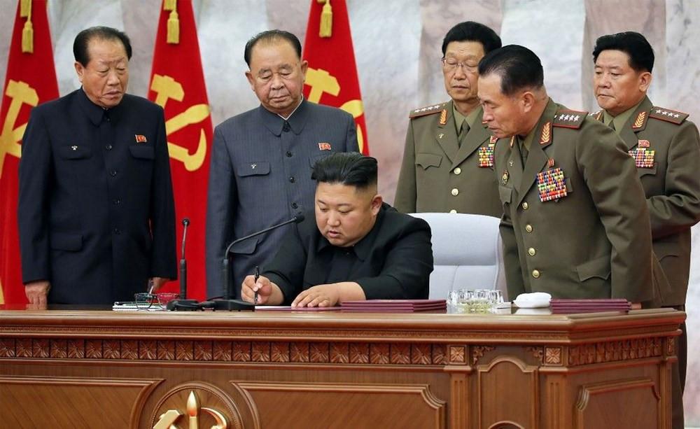 Kim, nükleer cephane toplantısında ortaya çıktı