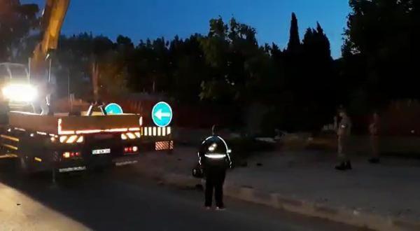 Otomobille askeri tugaya girdi!