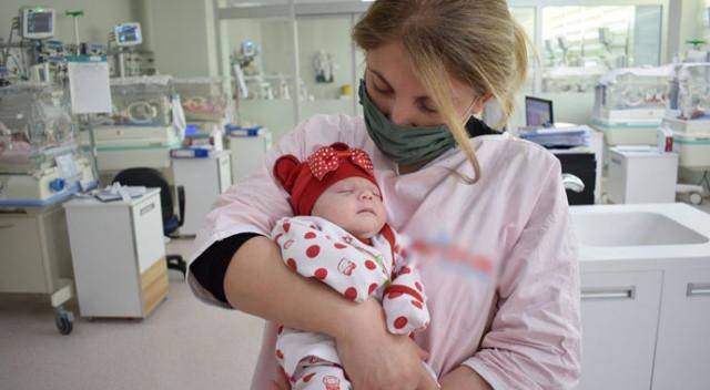 Çöpte bulunan Duru bebekten yeni haber
