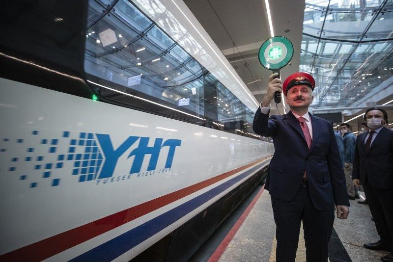 Ankara'dan yola çıkan ilk tren İstanbul'a ulaştı - Resim: 2