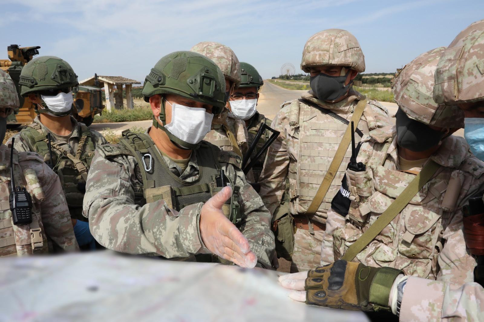 Türkiye ve Rusya'dan 13'üncü ortak devriye
