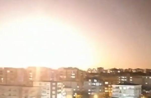 Türkiye'ye düşen meteorun en net görüntüleri ortaya çıktı