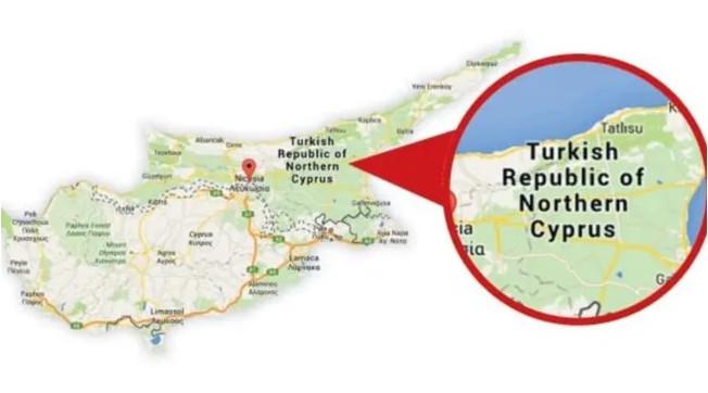 Google'dan KKTC açılımı: KKTC, Google haritasında!