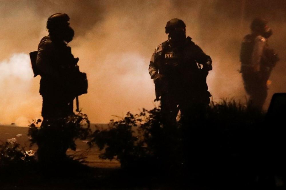 ABD yangın yeri! Polis şiddetine öfke dinmiyor