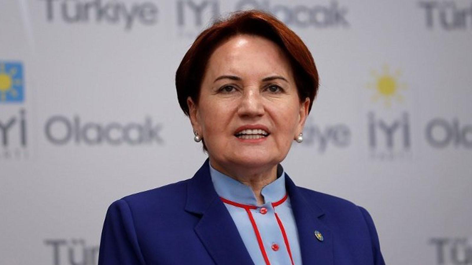 İYİ Parti Genel Başkanı Akşener: ''Memleket masası mutlaka oluşacak''