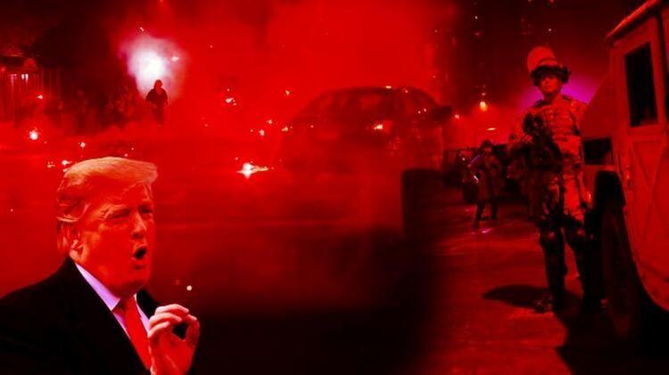 ABD'de siyah öfke dinmiyor! Sokağa çıkma yasağı ilan edildi