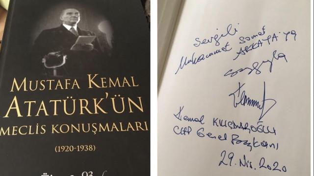 Kılıçdaroğlu Genç İmam Hatipliler Derneği'ne basın ne hediye etti