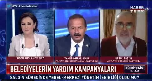 Habertürk canlı yayınında damga vuran ''paralel devlet'' yanıtı