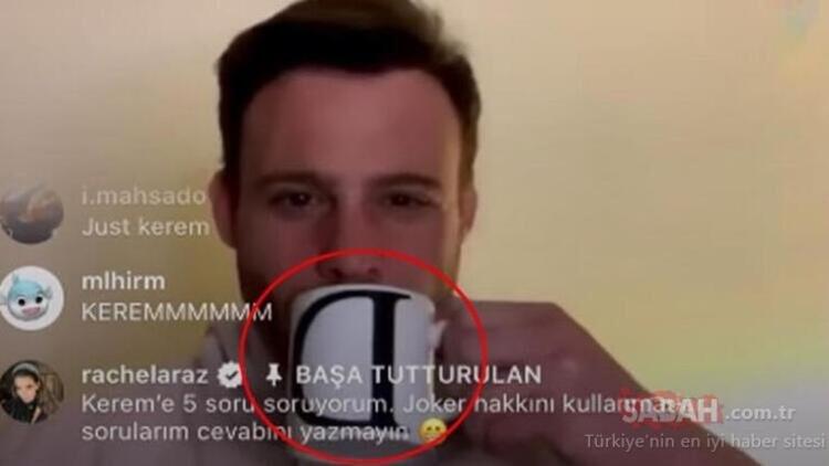 Kerem Bürsin Demet Özdemir iddialarına yanıt verdi