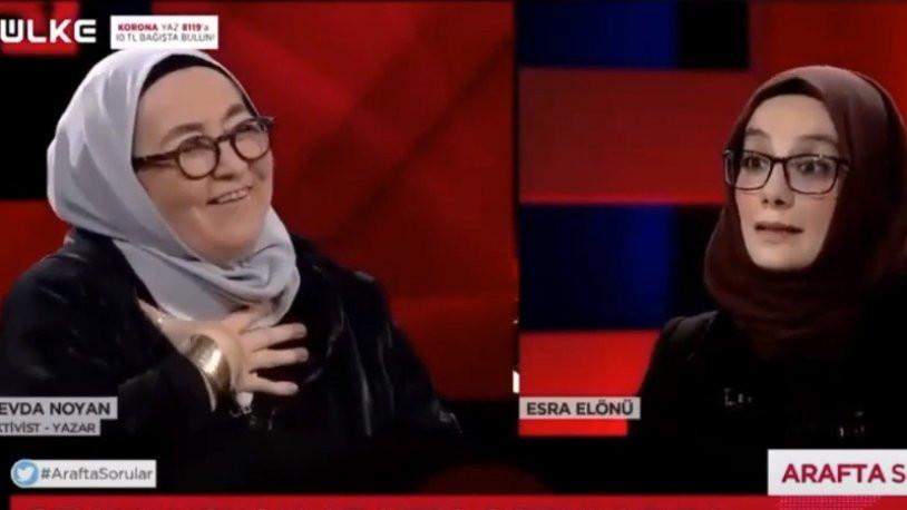 Ülke TV sunucusu Esra Elönü'den Sevda Noyan itirafı