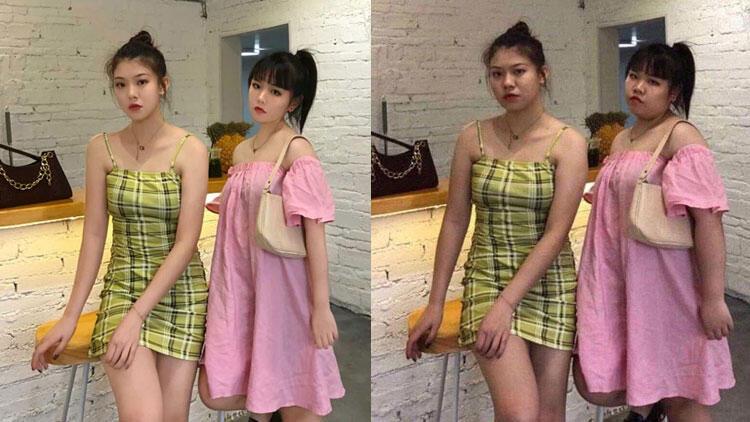 Çinli fenomenin photoshop'suz hali şoke etti!