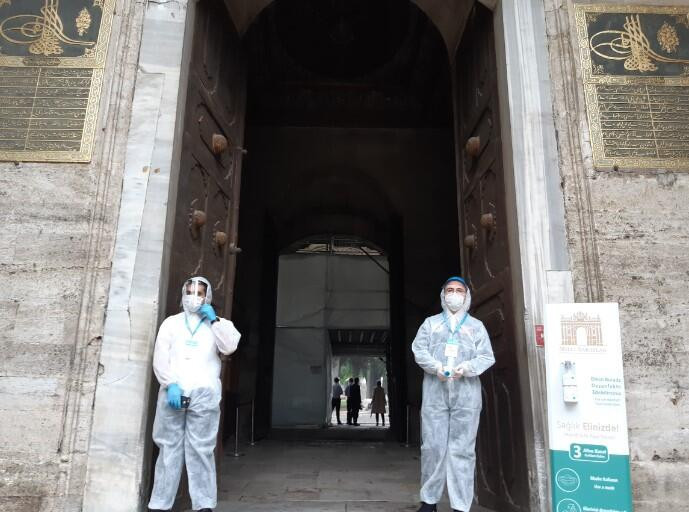 Topkapı Sarayı, uzun bir aranın ardından ziyaretçilere açıldı