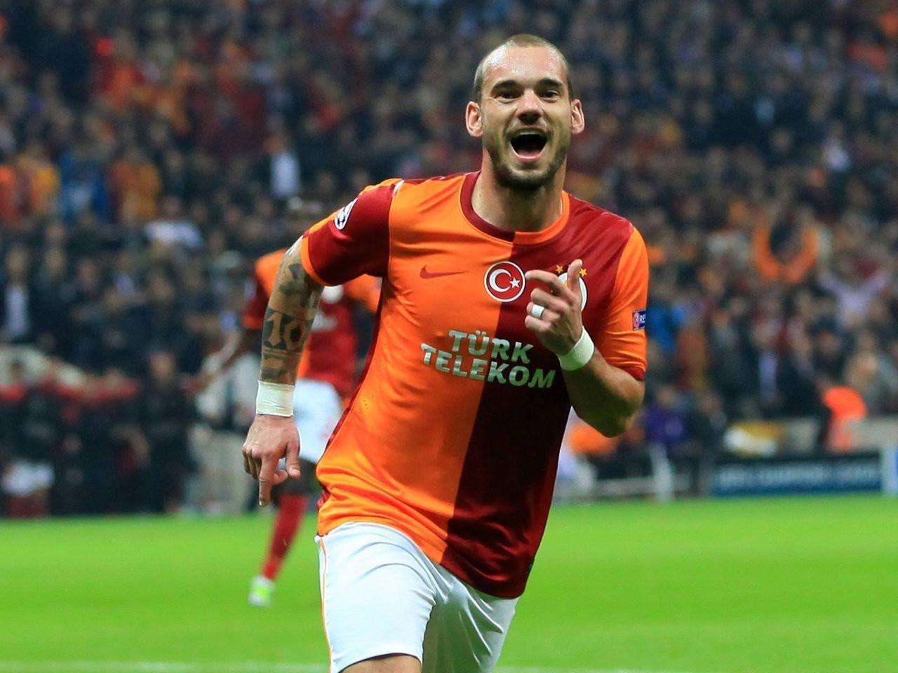 Sneijder'i görenler gözlerine inanamadı