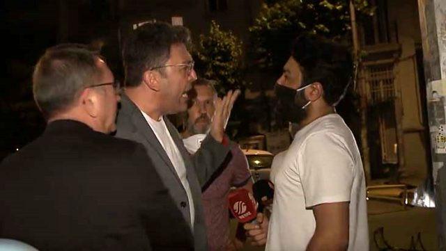 Emre Kınay'ın olaylı gecesi! Sinirden deliye döndü