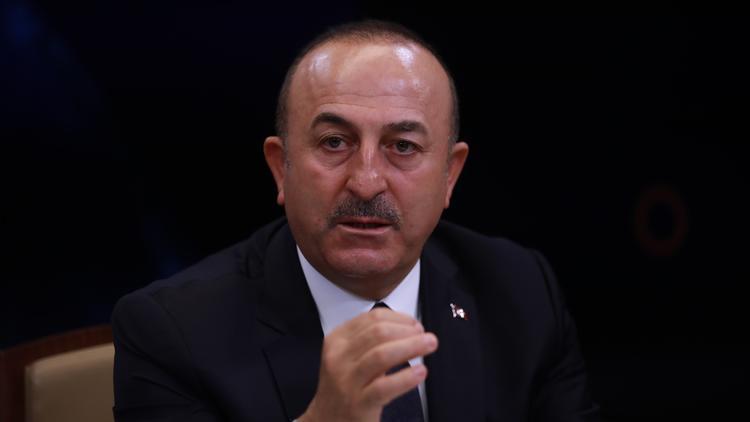 Bakan Çavuşoğlu canlı yayında Ayasofya'nın tapusunu gösterdi