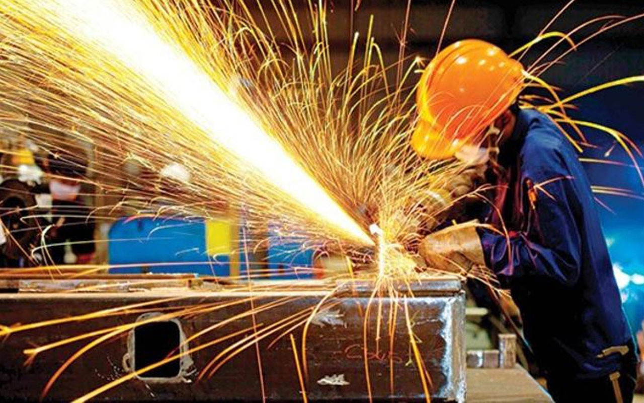 Sanayi üretiminde büyük düşüş
