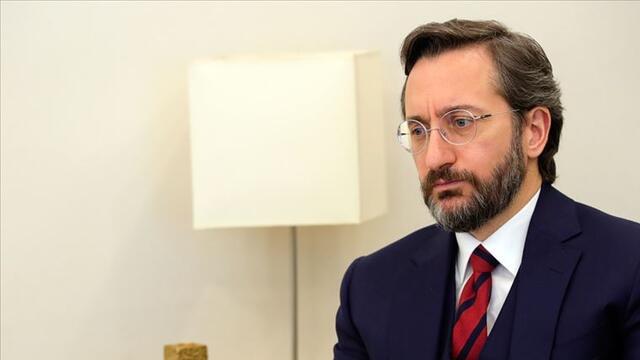 İletişim Başkanı Altun'un avukatı Sezgin Tunç'tan açıklama