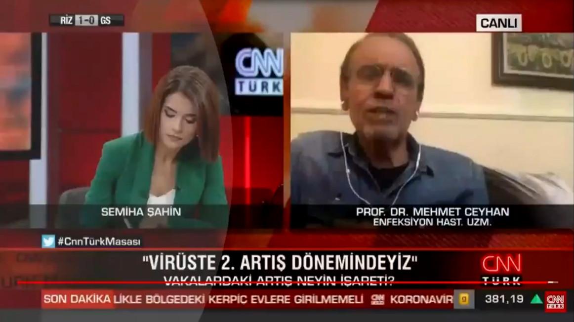 CNN Türk canlı yayınında ''tuhaf'' tesadüf! O an yayın kesildi