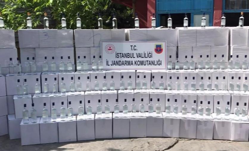 İstanbul'da 18 ton kaçak etil alkol ele geçirildi