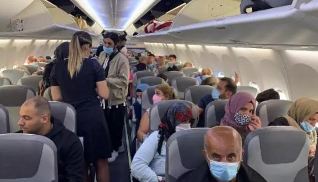 Yolcu uçağında koronavirüs paniği!