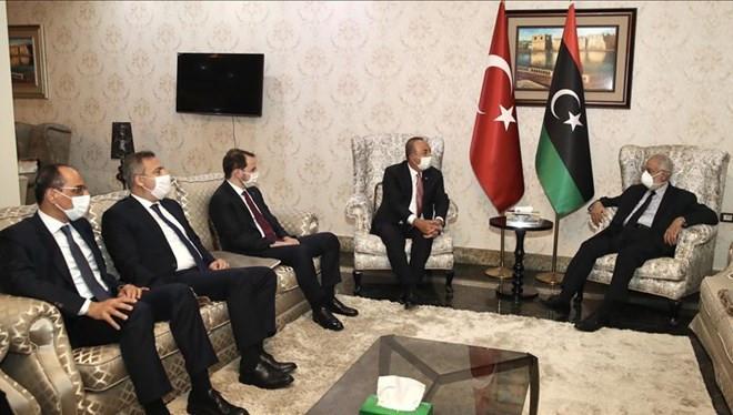 Türk heyetinden Libya çıkarması!