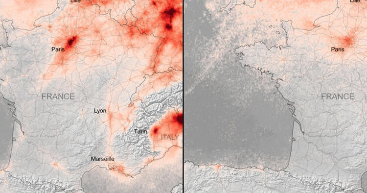 Hava kirliliği azalmasına rağmen karbondioksit artıyor
