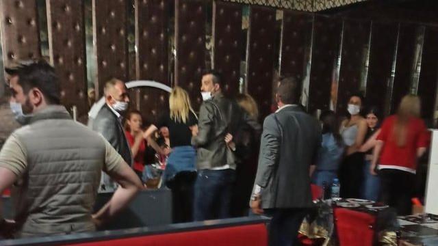 Ankara'da kaçak pavyon baskını! Ceza yağdı