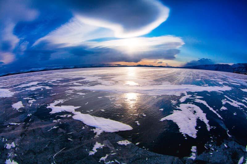 Sibirya'da sıcaklık 38 dereceyi gördü!