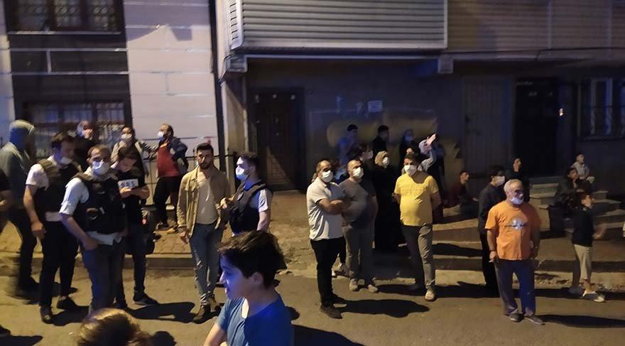 İstanbul'da 3 bina tahliye edildi