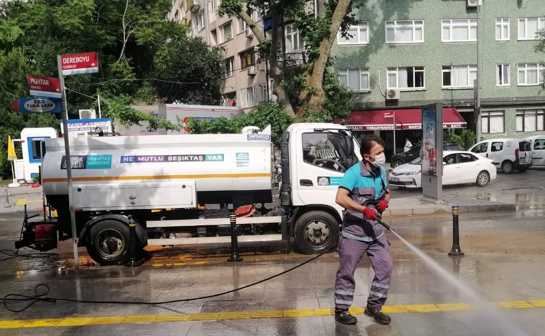 Beşiktaş Belediyesi sağanak yağış için seferber oldu