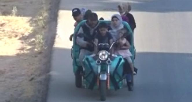 Günün bilmecesi: Bu motosiklette kaç kişi var ? İpucu: ''Yuh!''