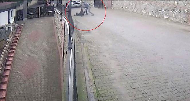 İstanbul'daki kayınpeder cinayeti kamerada