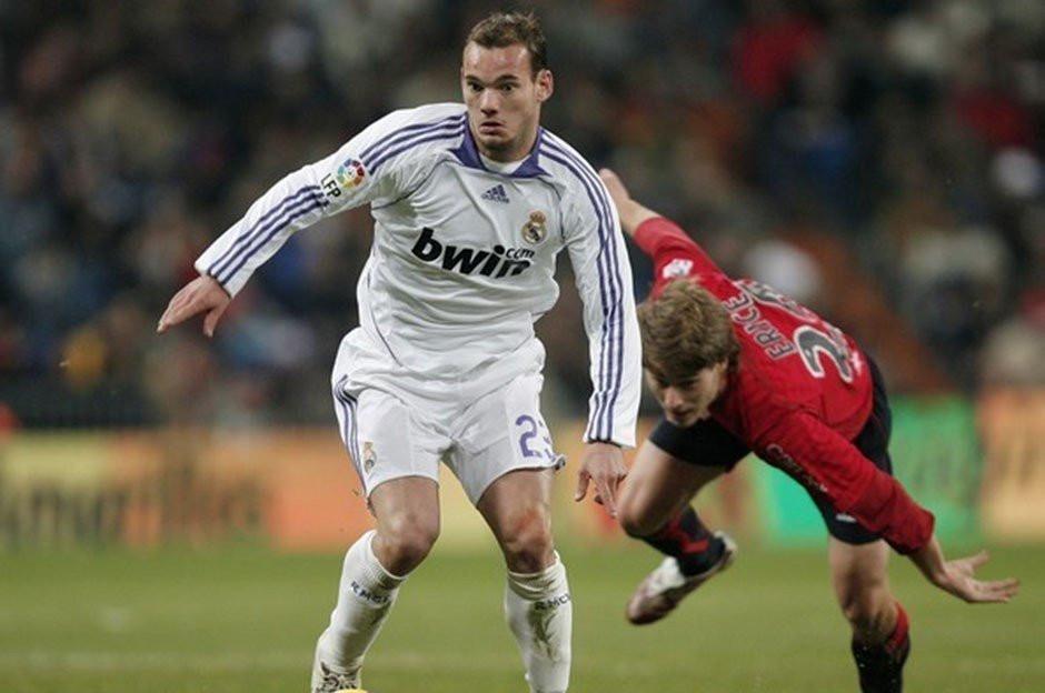 Sneijder'den flaş itiraf!
