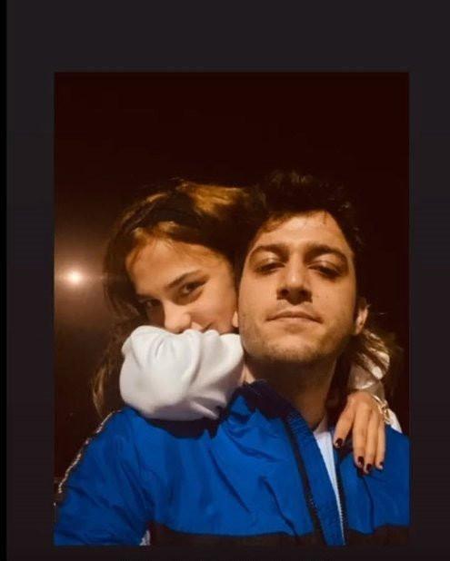 Bahar Şahin rol arkadaşı Mehmet Ozan Dolunay'la yakalandı