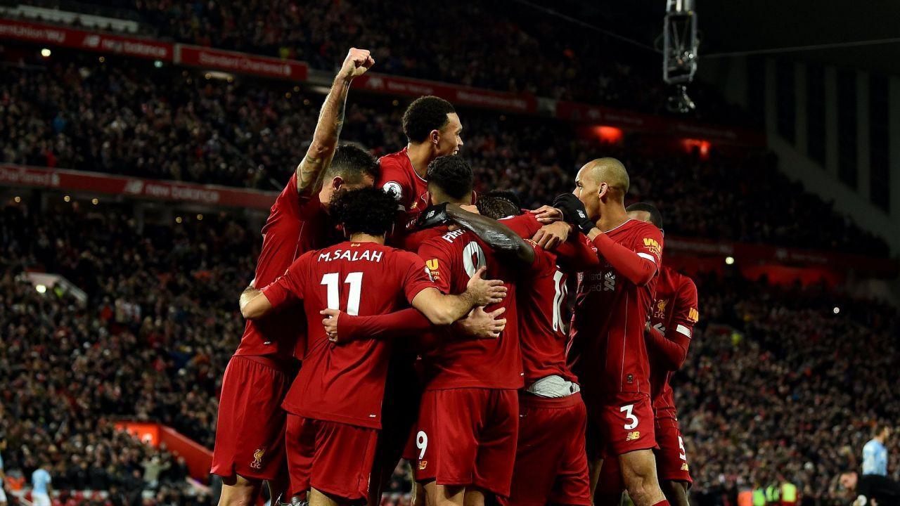 Premier Lig'de şampiyon Liverpool