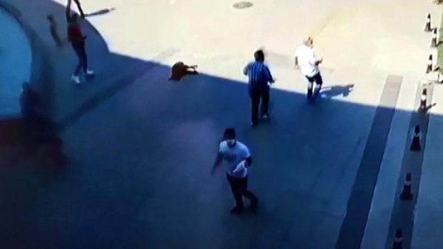 İstanbul'u bile sallayan Manisa depremi kamerada