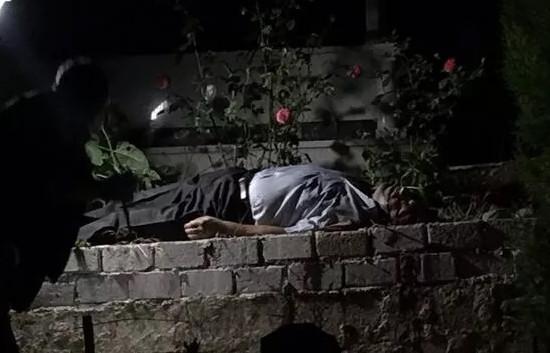 Cansız bedeni eşinin mezarının yanında bulundu