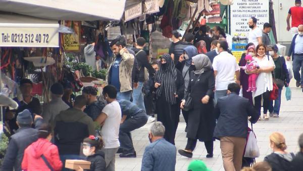 İstanbul'da normalleşmenin üçüncü gününde korkutan görüntüler - Resim: 3