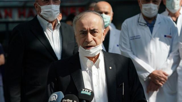 Galatasaray Başkan Cengiz taburcu edildi