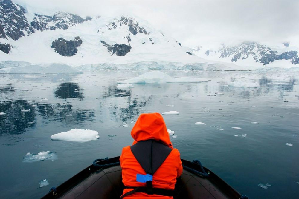 Güney Kutbu'nda kırmızı alarm! Üç kat daha hızlı ısınıyor