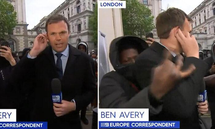 Gazeteciye canlı yayında saldırı!
