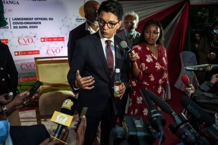 Koronavirüs ilacını bulduk diyen Madagaskar'da vaka sayıları artıyor