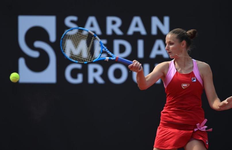 Saran Medya'nın düzenlediği Kadınlar Tenis Turnuvası'nın şampiyonu o oldu