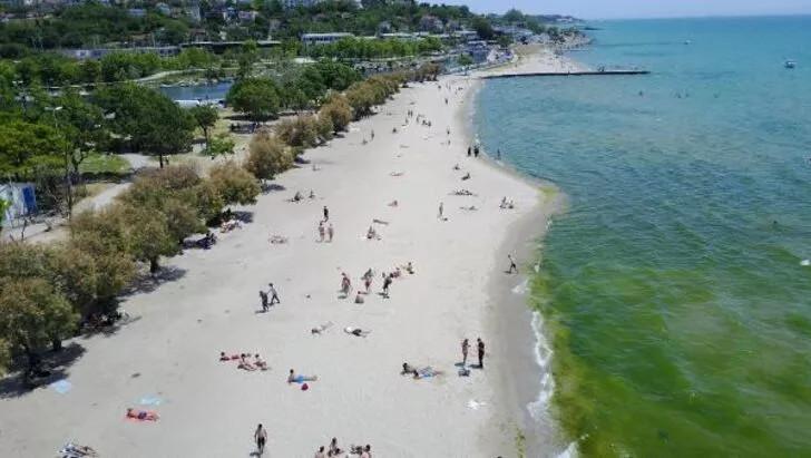 Plajlarda sosyal mesafeyi hiçe saydılar! ''Kum bizi korur'' - Resim: 4