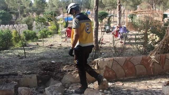 Afrin'de çocuk parkında bomba patladı: 2 yaralı