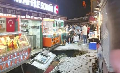 İstanbul'da gece yarısı korkutan olay!